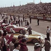 Le Mans Racing Circuit, France Art Print