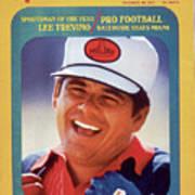 Lee Trevino, 1971 Heritage Classic Invitational Sports Illustrated Cover Art Print