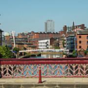 Leeds Waterfront Developments Art Print