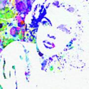 Legendary Judy Garland Watercolor I Art Print