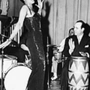 Lena Horne Sings Art Print