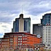 Lengthy View Of Nashville Art Print