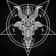 Leviathan Pentagram  Art Print
