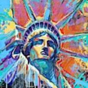 Liberty In Color Art Print
