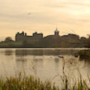 Linlithgow Palace At Dusk Art Print