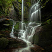 Linville Gorge - Waterfall Art Print