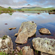 Loch La Stainge Art Print