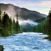 Lochsa River Art Print