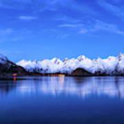 Lofoten Panorama Art Print