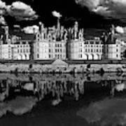 Loire Castle, Chateau De Chambord Art Print