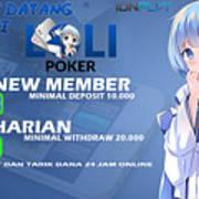 Lolipoker Situs Poker Online Bank Bca 24 Jam Indonesia Art Print
