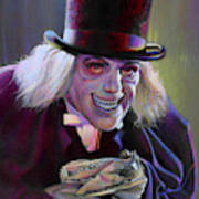 Lon Chaney In London After Midnight Art Print