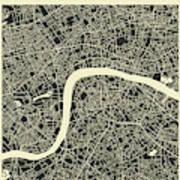 London Map 3 Art Print