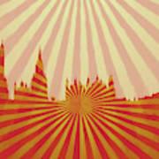 London Pop Art Art Print