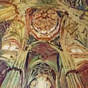 Looking Up Salamanca Cathedral Art Print