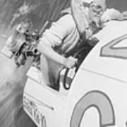 Loretta Turnbull Racing Art Print