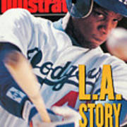 Los Angeles Dodgers Darryl Strawberry Sports Illustrated Cover Art Print