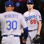 Los Angeles Dodgers V Arizona Art Print