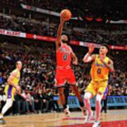 Los Angeles Lakers V Chicago Bulls Art Print