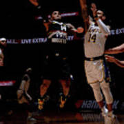 Los Angeles Lakers V Denver Nuggets Art Print