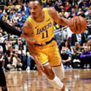 Los Angeles Lakers V Orlando Magic Art Print
