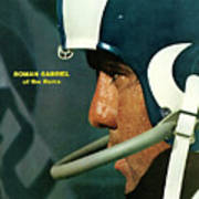 Los Angeles Rams Qb Roman Gabriel Sports Illustrated Cover Art Print