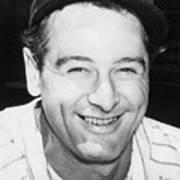 Lou Gehrig Close Portrait Art Print