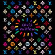 Louis Vuitton Monogram-11 Art Print