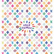 Louis Vuitton Monogram-12 Art Print
