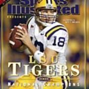 Louisiana State University Qb Matt Mauck Sports Illustrated Cover Art Print
