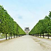 Louvre In  Paris Art Print