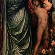 Love And Death, C1877, 1917 Art Print