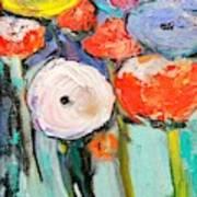 Love Of Poppies Art Print