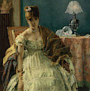 Lovelorn, 19th Century Art Print
