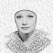 Lucille Ball 2a Art Print
