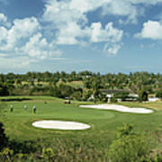Lyford Cay Golf Course Art Print