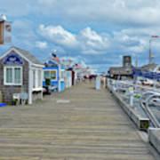 Macmillan Pier Provincetown Cape Cod Massachusetts 01 Art Print