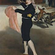 Mademoiselle V      In The Costume Of An Espada  Art Print