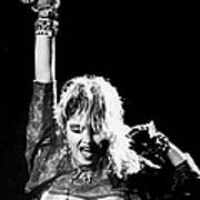 Madonna Concert Performs At Madison Art Print