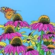 Magnificant Monarch Art Print