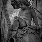 Magnolia Child Statue Art Print