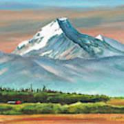 Majestic Mount Cook Art Print