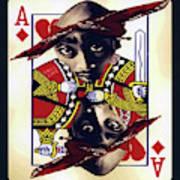 Makiavellian Conundrum - Tupac Shakur Art Print
