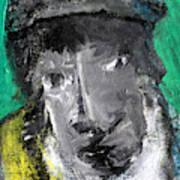 Man In A Scarf Art Print