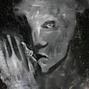 Man In The Dark Art Print