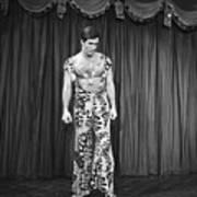 Man Modeling New Fashion Art Print