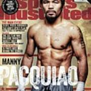 Manny Pacquiao, 2015 Wbawbcwbo Welterweight Title Preview Sports Illustrated Cover Art Print