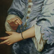 Marie Ruthven, Lady Van Dyck, Detail Art Print