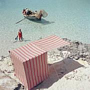Marietine Birnie, Blue Lagoon Art Print