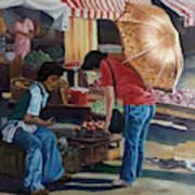 Market Scene Divisoria Art Print
